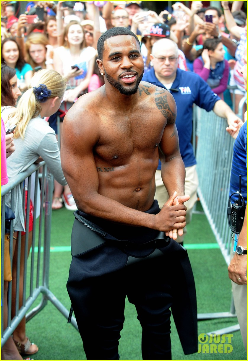 jason derulo shirtless fourth of july gma 11