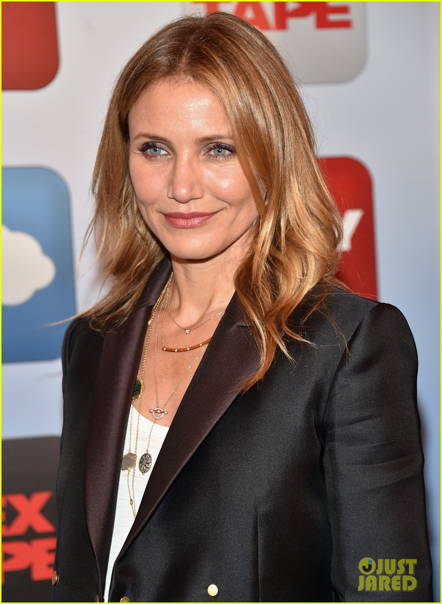 cameron diaz sex tape photo call 04