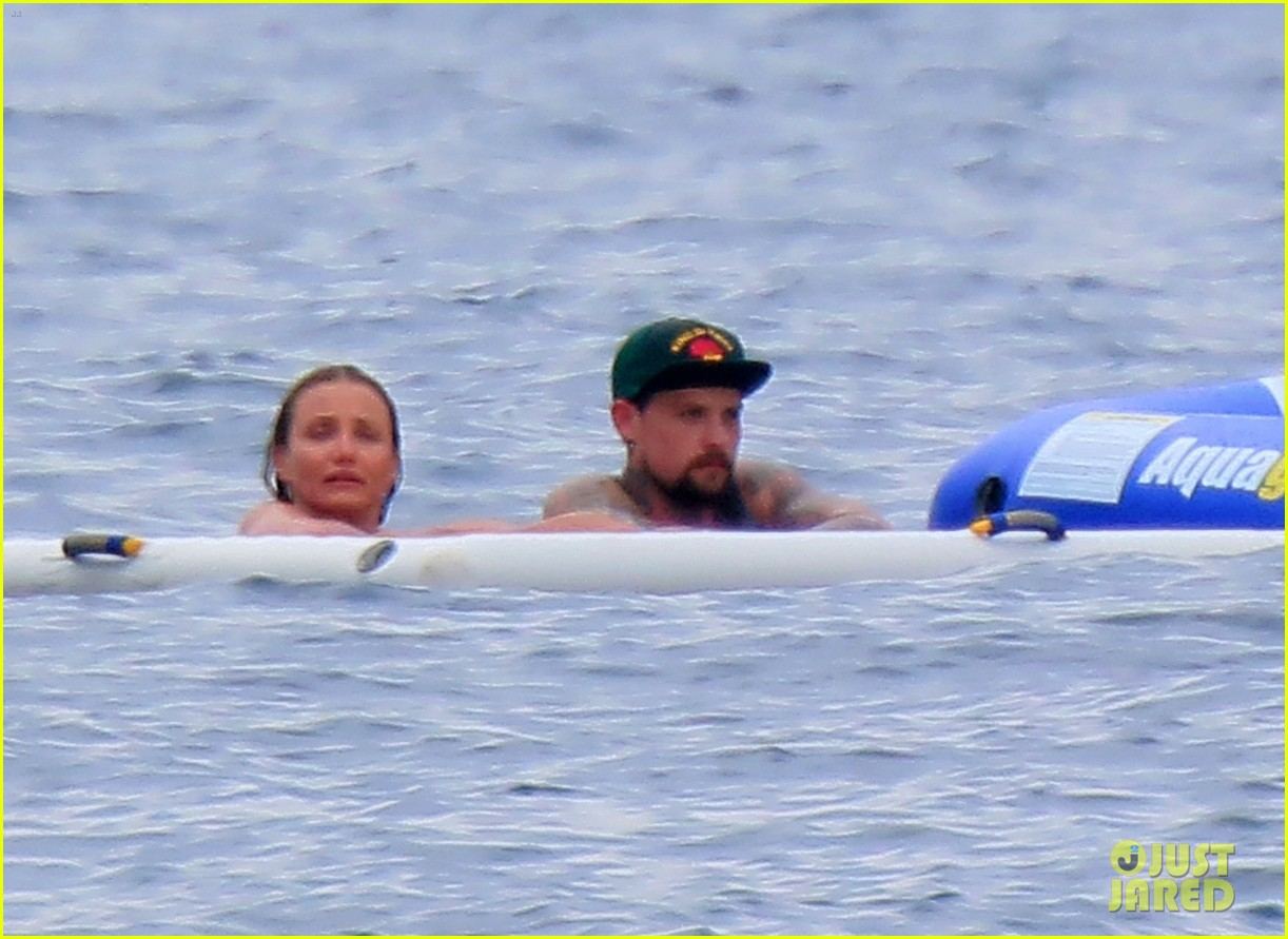cameron diaz benji madden continue their romantic getaway by the sea 03