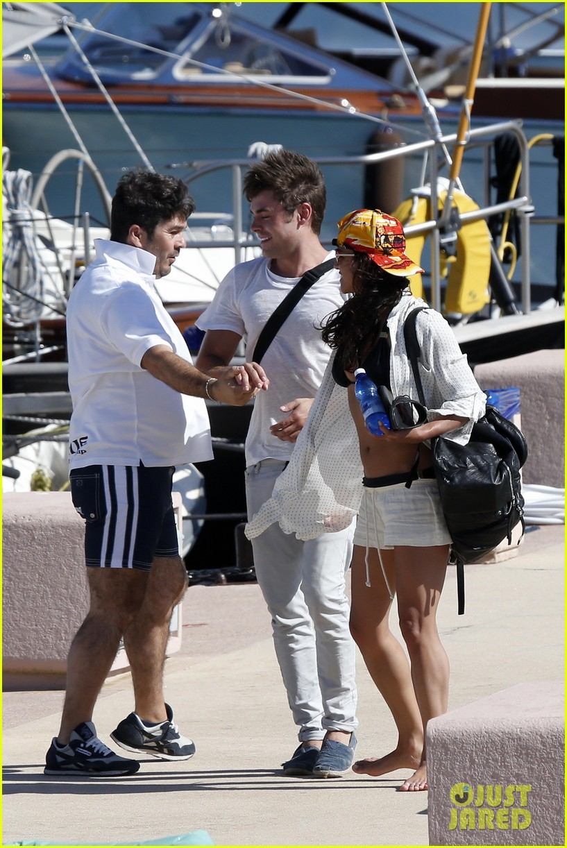 zac efron michelle rodriguez set sail together in porto cervo 023148181