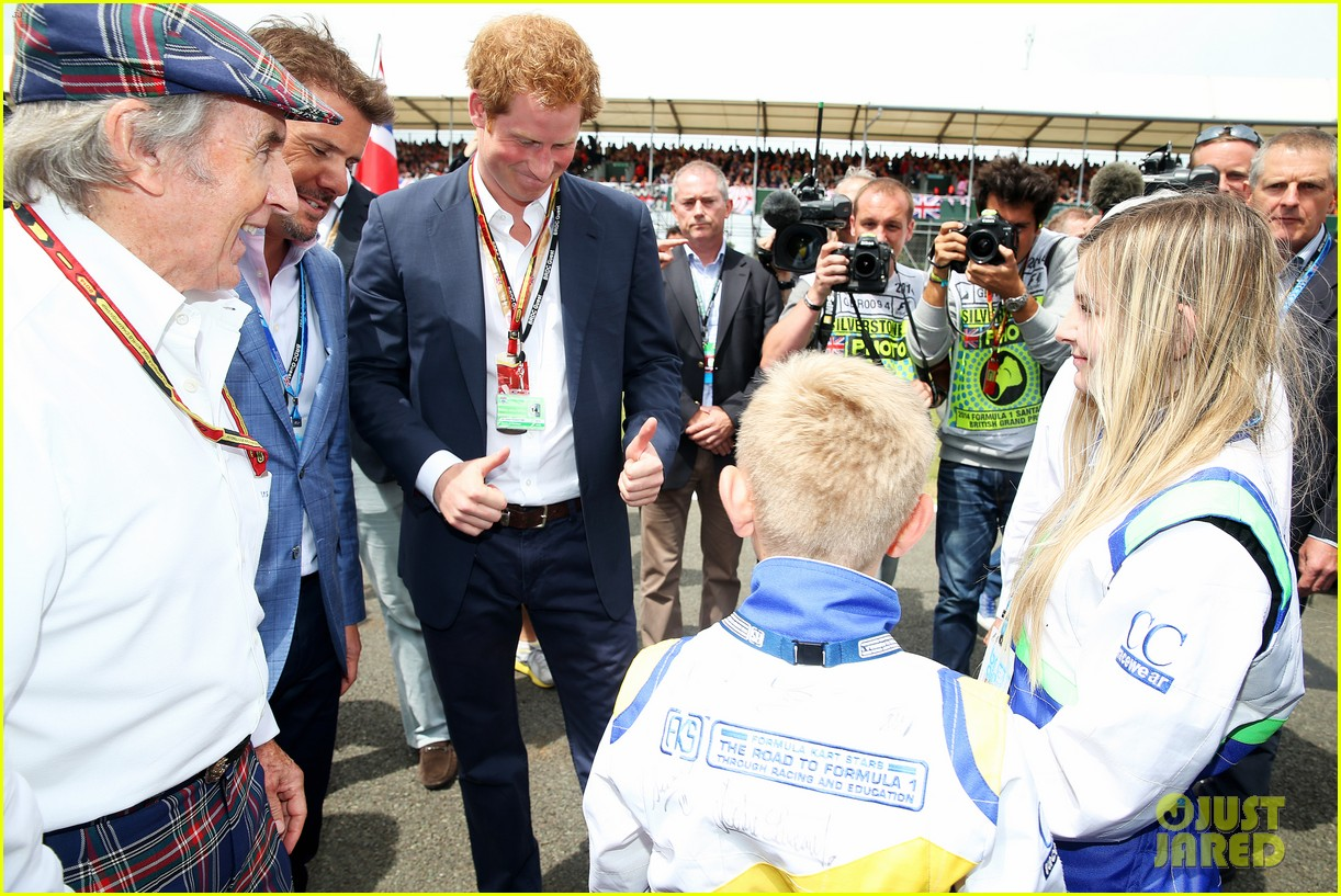 prince harry eventful sunday at the one grand prix 01