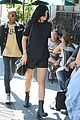 kylie jenner black lips urth cafe 11