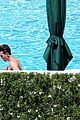joe simpson hits the pool with a much younger man 27
