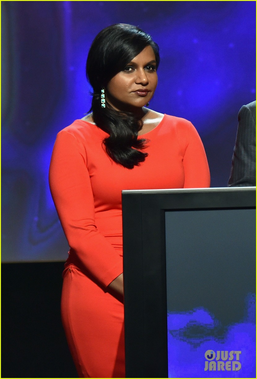 mindy kaling carson daly announce the emmy nominations 2014 13