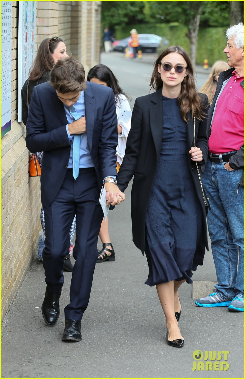 keira knightley husband james righton wimbledon 07