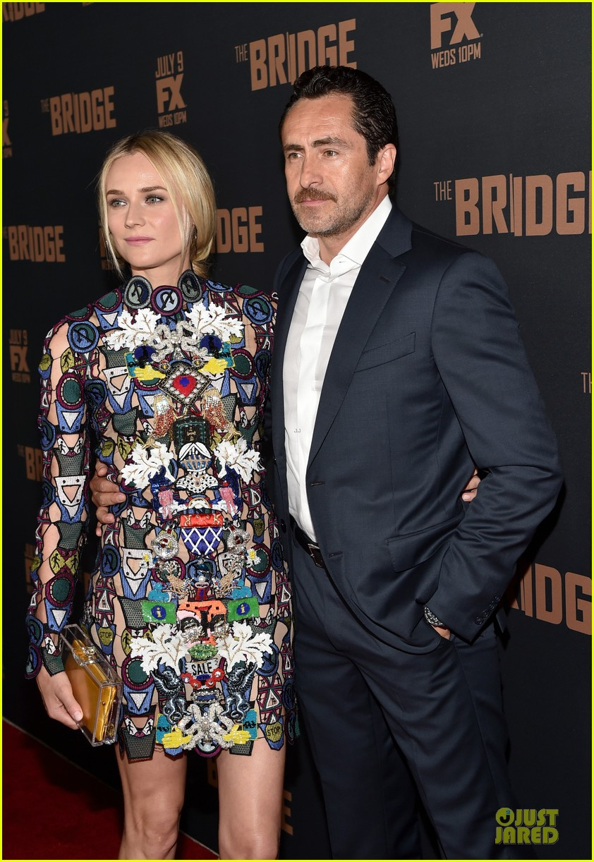 diane kruger brings colorful fashion sense to bridge premiere 13