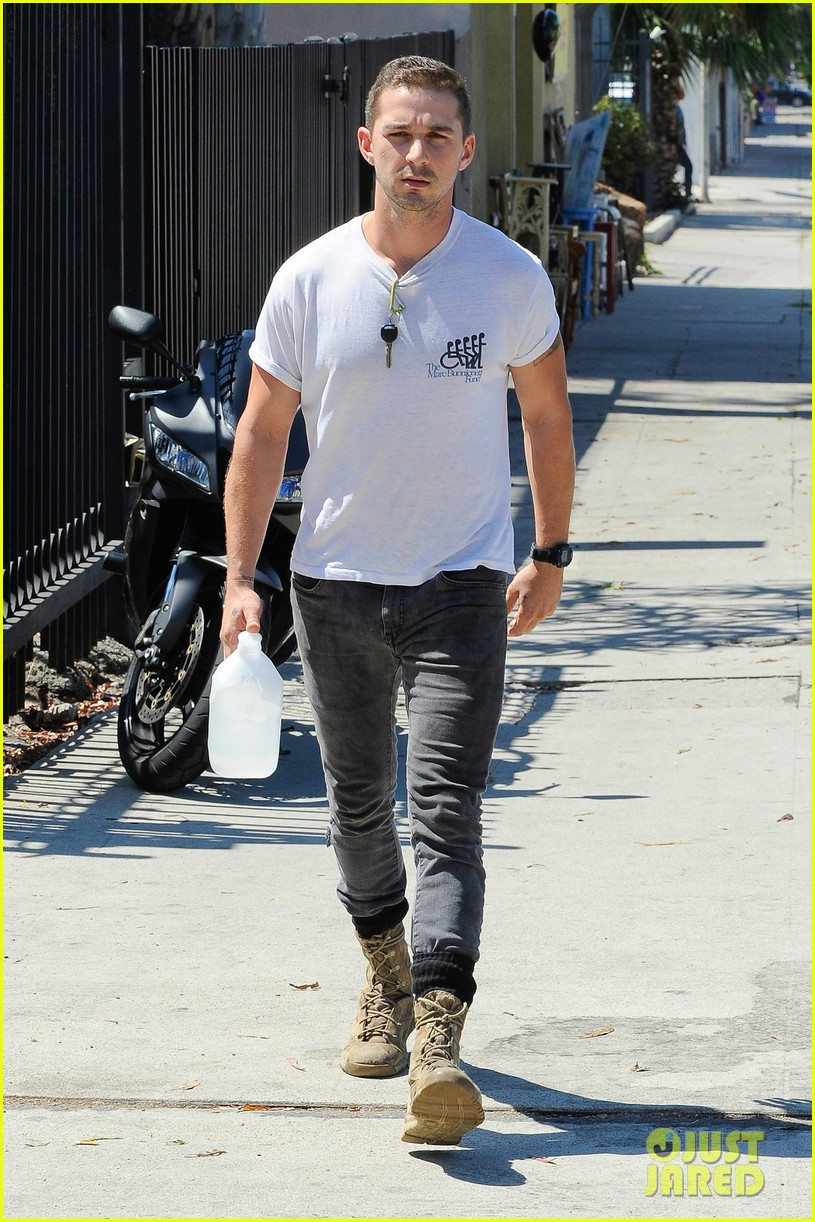shia labeouf clean shaven looking healthy 013151076