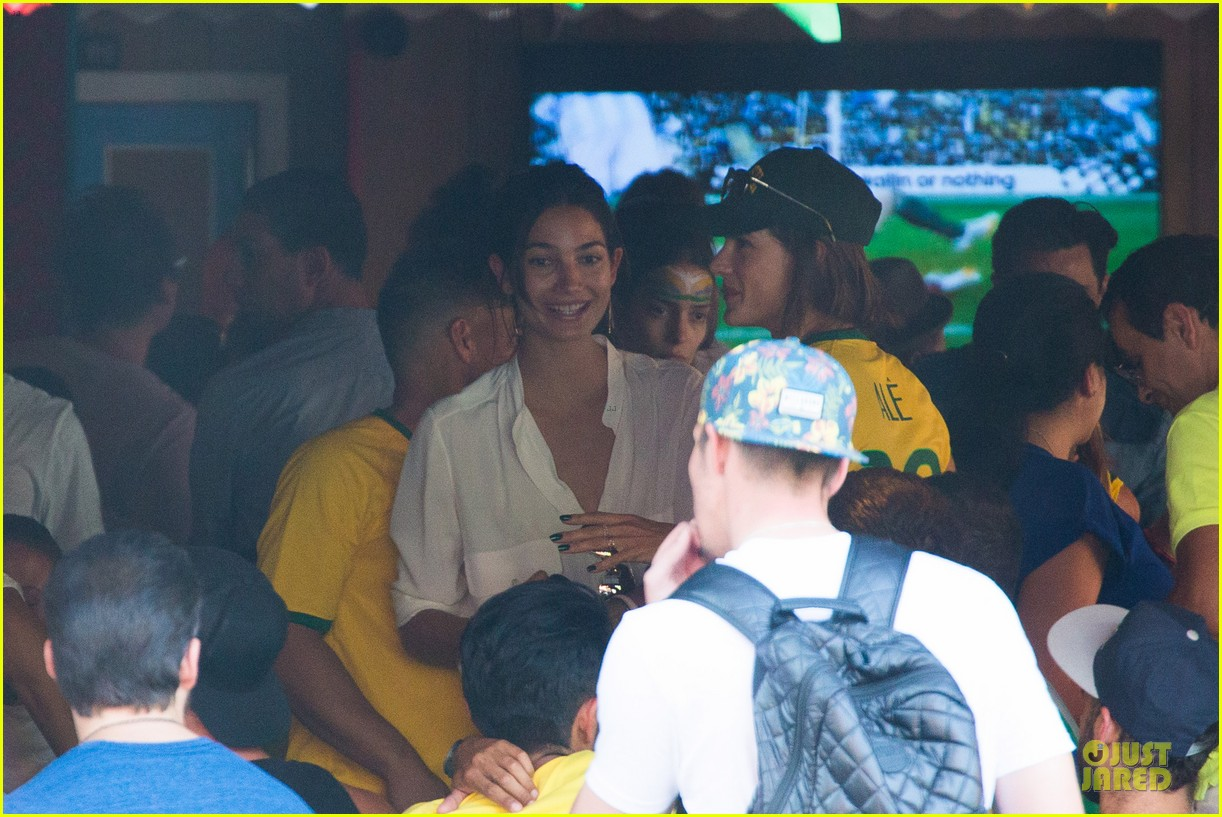 adriana lima alessandra ambrosio support brazil in world cup defeat 11