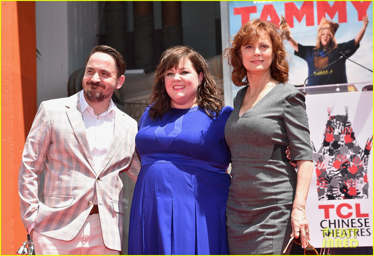 melissa mccarthy hand footprint ceremony 15