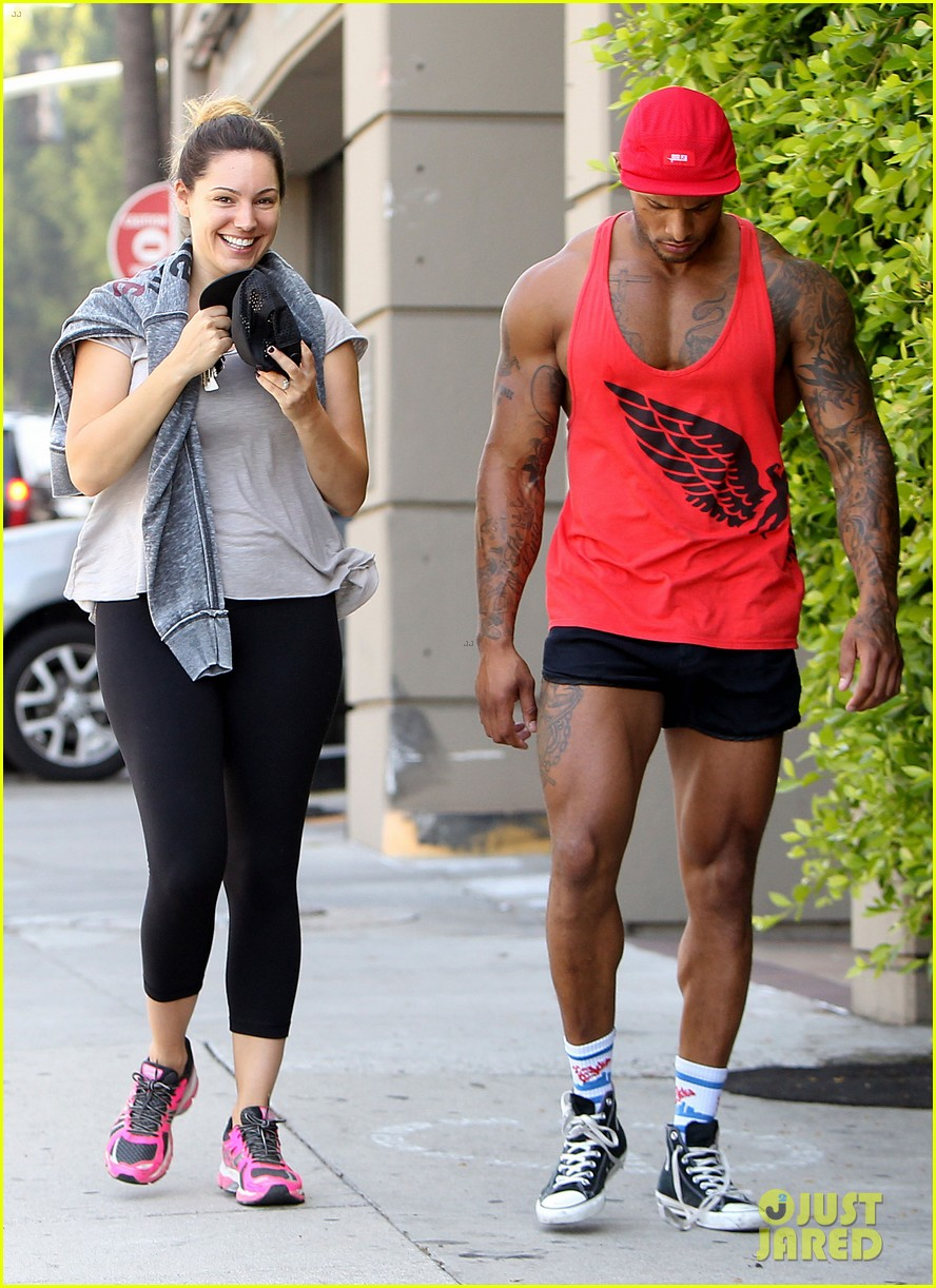 kelly brook fiance david mcintosh should always go shirtless 12