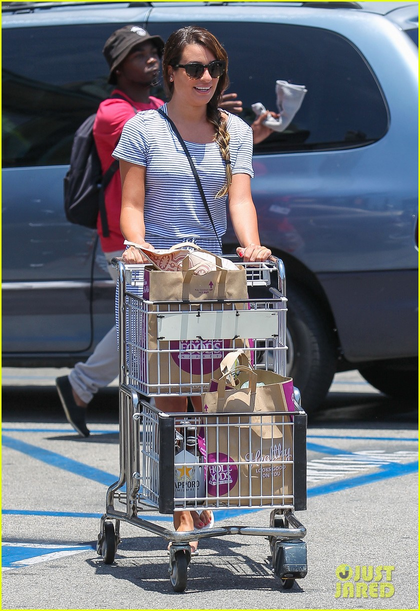 lea michele smiles wide after going public with new boyfriend 06