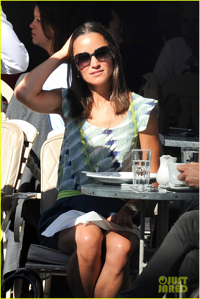 pippa middleton handsome pal make her laugh 083149164