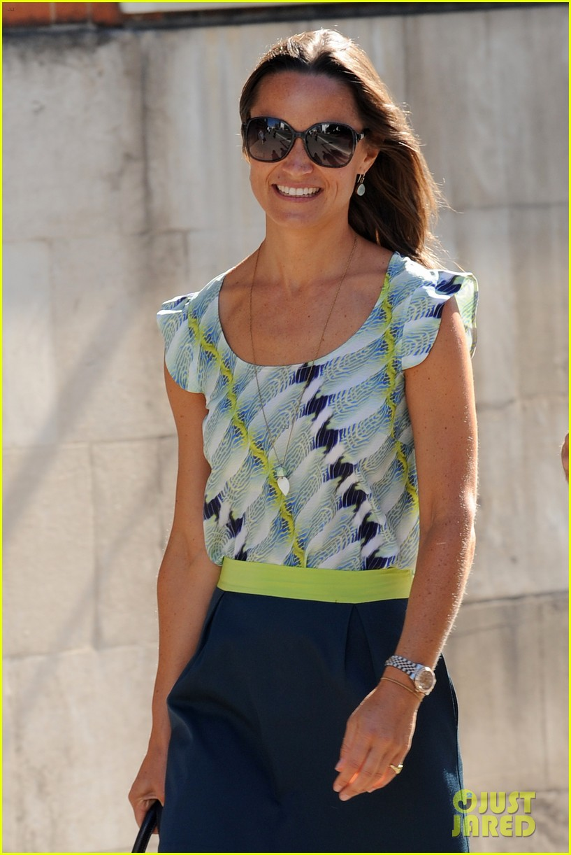 pippa middleton handsome pal make her laugh 123149168