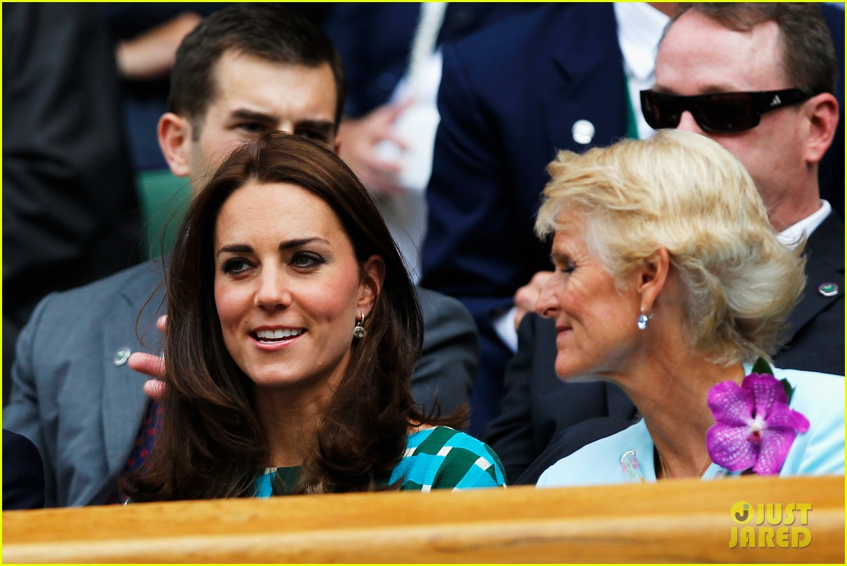 kate middleton prince william greet wimbledon winner 023150504