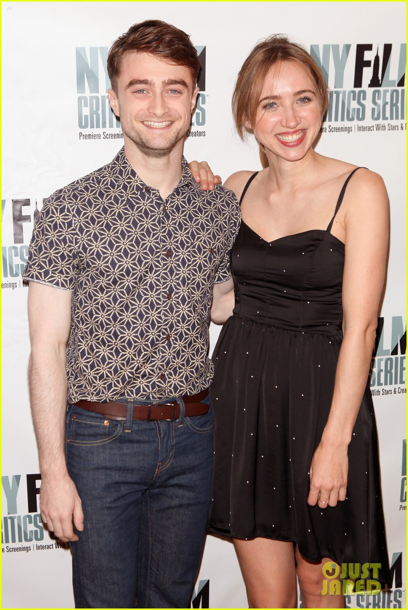 daniel radcliffe zoe kazan what if screening 113151882