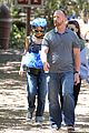 nicole richie rocks blue tutu overalls during hike 07