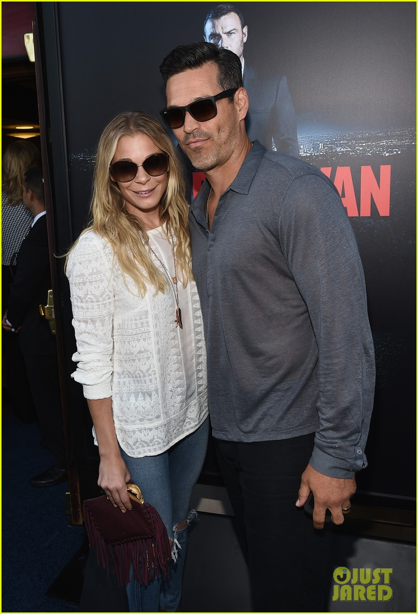 leann rimes eddie cibrian are the happiest couple at ray donovan 033152865