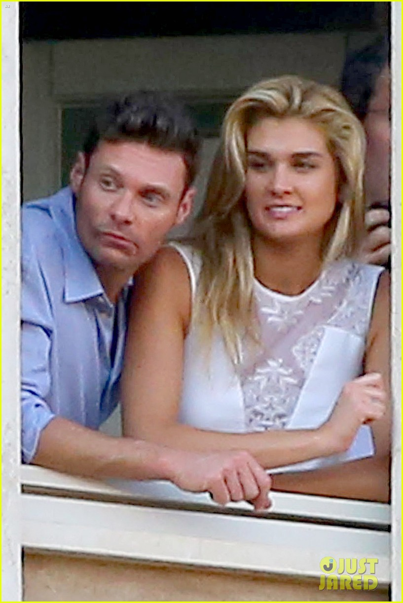 ryan seacrest cozies up to girlfriend shayna taylor 023149643
