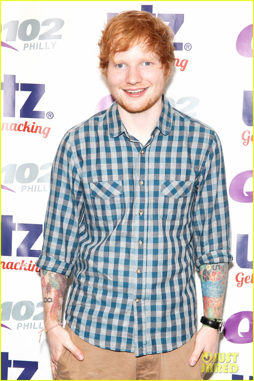 ed sheeran q102 fourth of july the roots 013150019