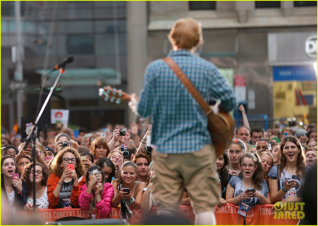 ed sheeran today show fourth of july 10