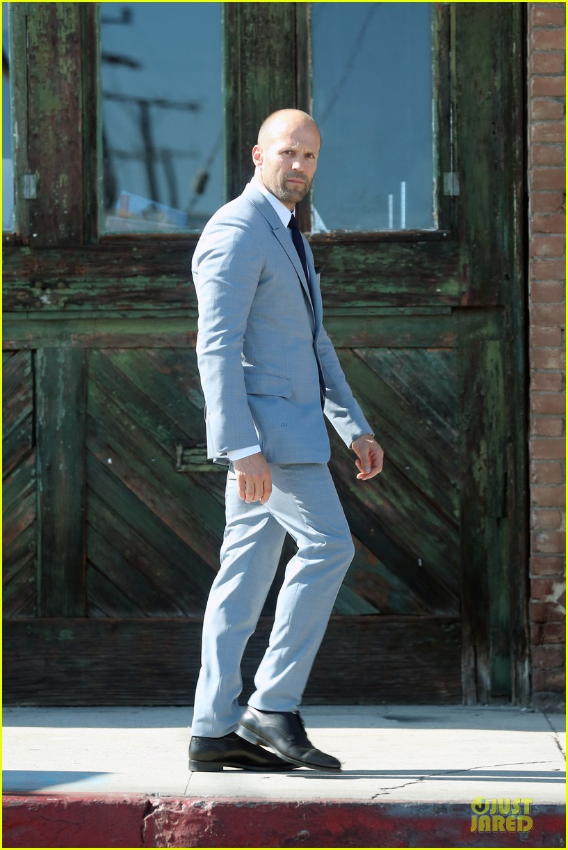 jason statham is seriously dapper for la photo shoot