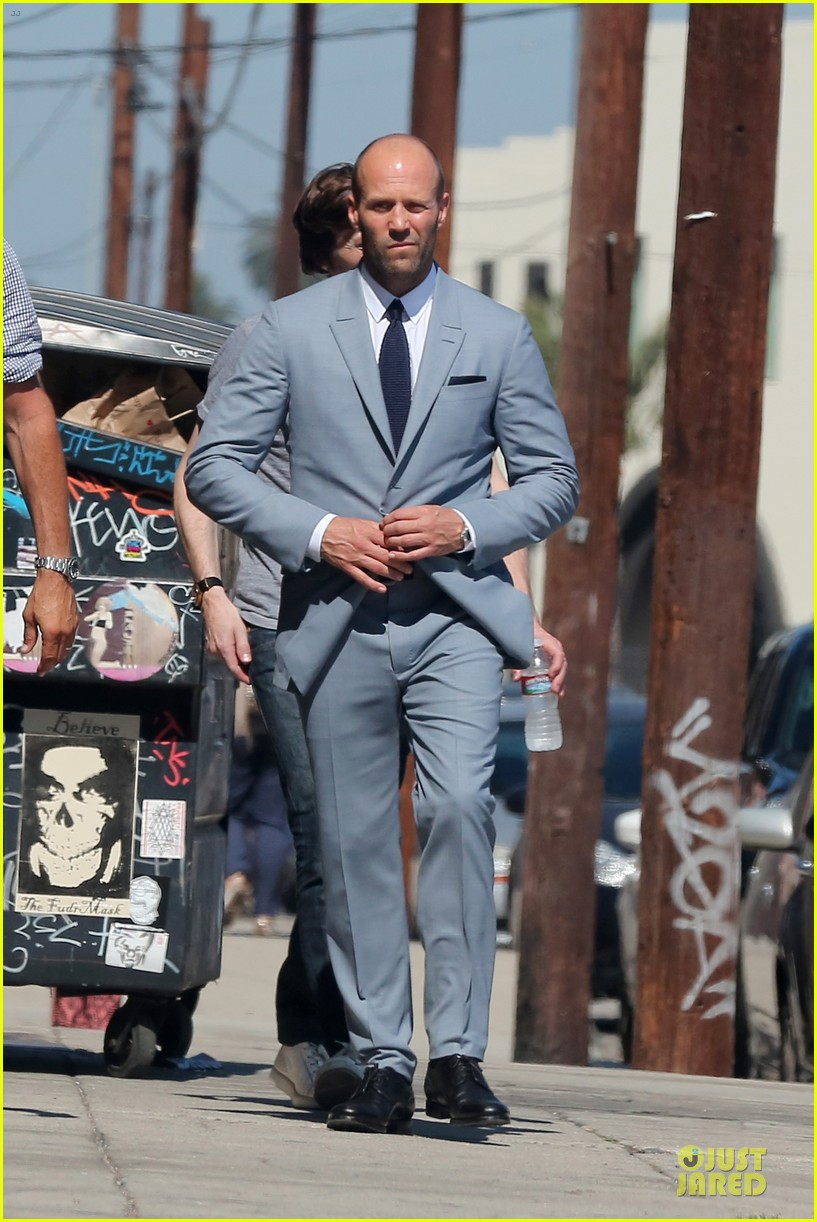 jason statham so dapper for la photo shoot 143148128