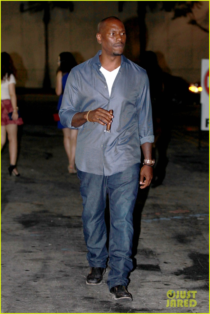 Tyrese Parties with Paul Walker's Brothers at 'Emotional & Bitter...