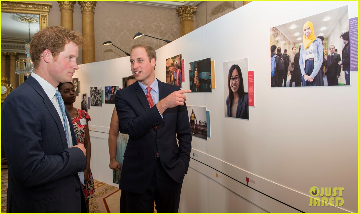 prince william jokes george bath time quite painful 213152563