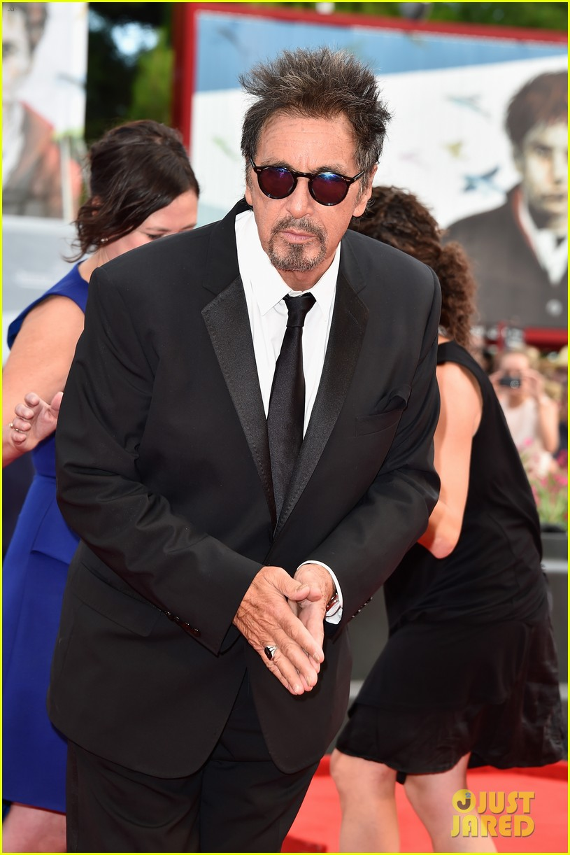 al pacino chris messina manglehorn premiere venice 123186621