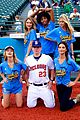 lily aldridge gigi hadid throw out first pitch at baseball game 03