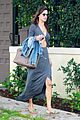 alessandra ambrosio flaunts flat tummy in maxi dress 07