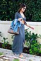 alessandra ambrosio flaunts flat tummy in maxi dress 14