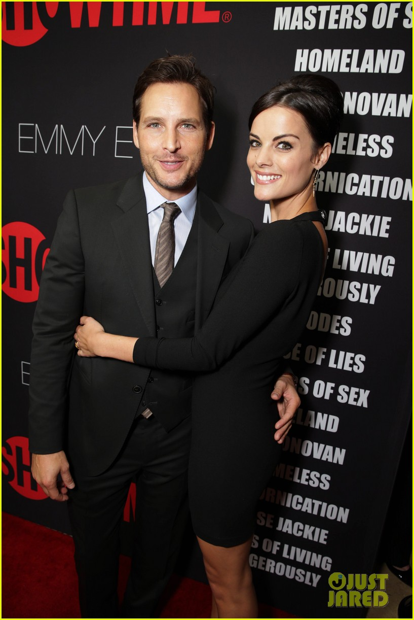 peter facinelli jaimie alexander step out in style for showtimes emmy eve 323182900