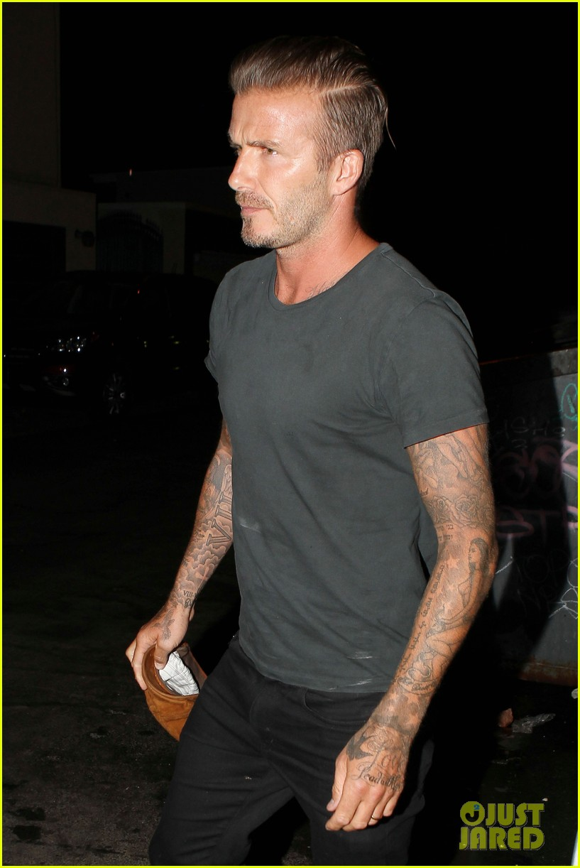 david beckham victoria dine separately with their good pals 05