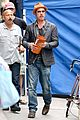 brad pitt wedding ring business meeting nyc 10