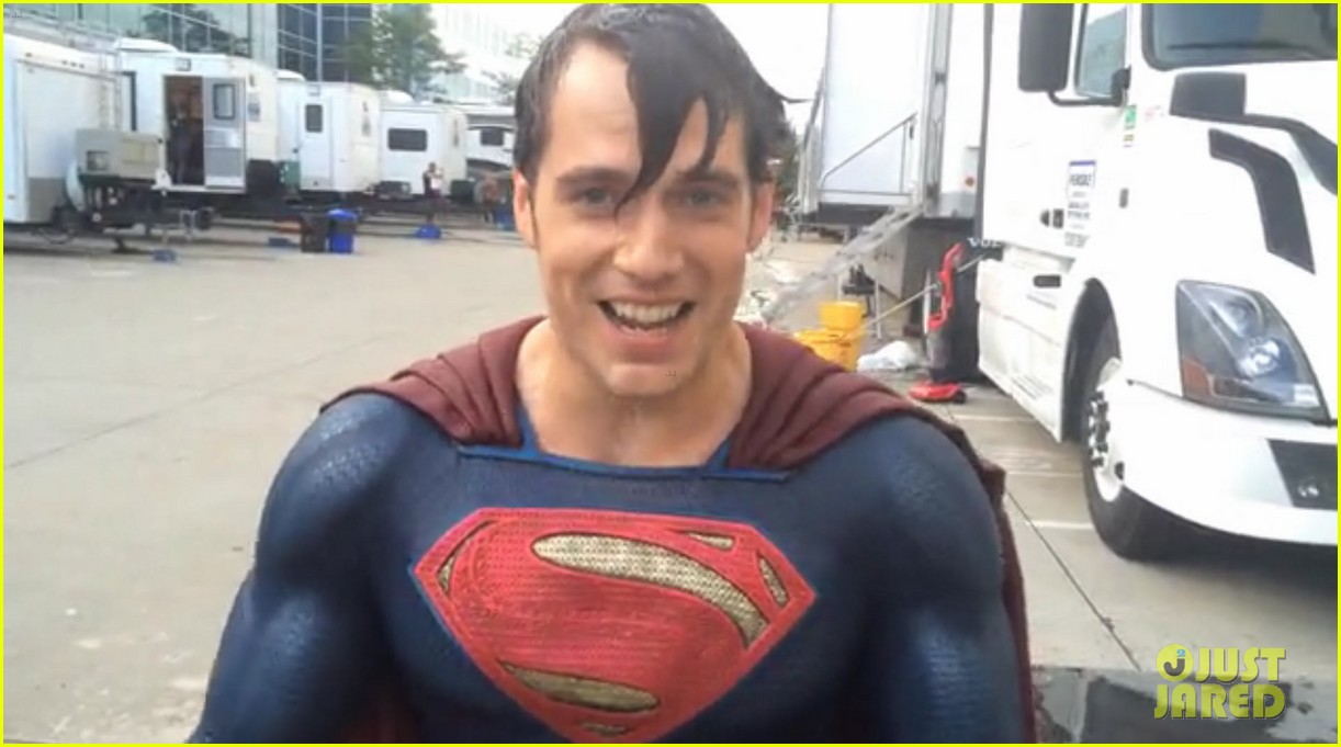henry cavill amy adams superman ice bucket challenge 04