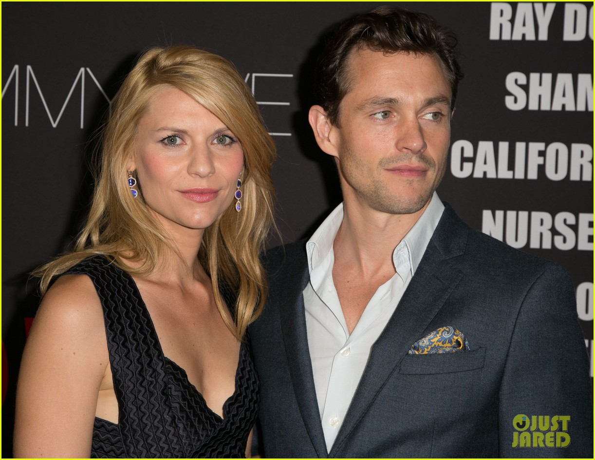 claire danes hugh dancy are the cutest couple at showtimes emmy eve 28