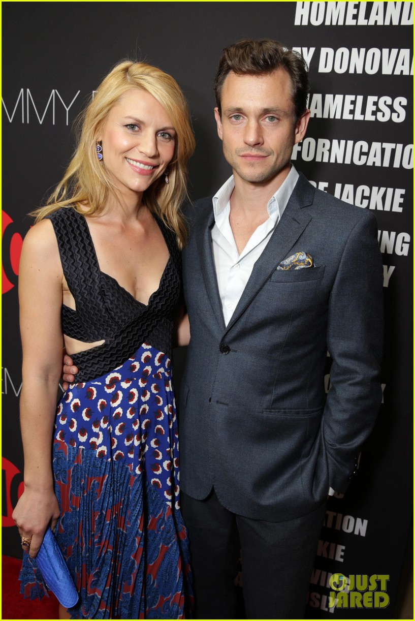 claire danes hugh dancy are the cutest couple at showtimes emmy eve 40