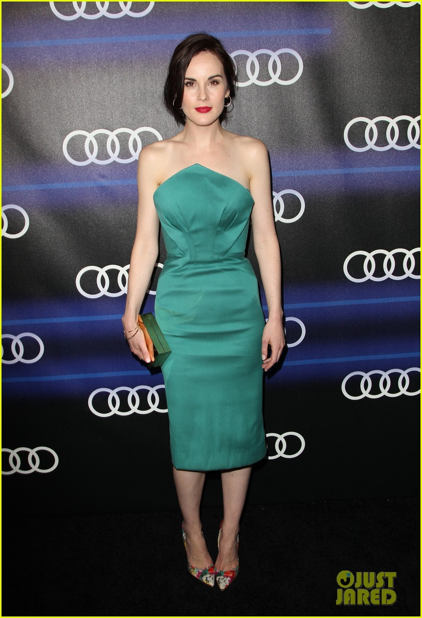michelle dockery jessica pare audi emmys party 24