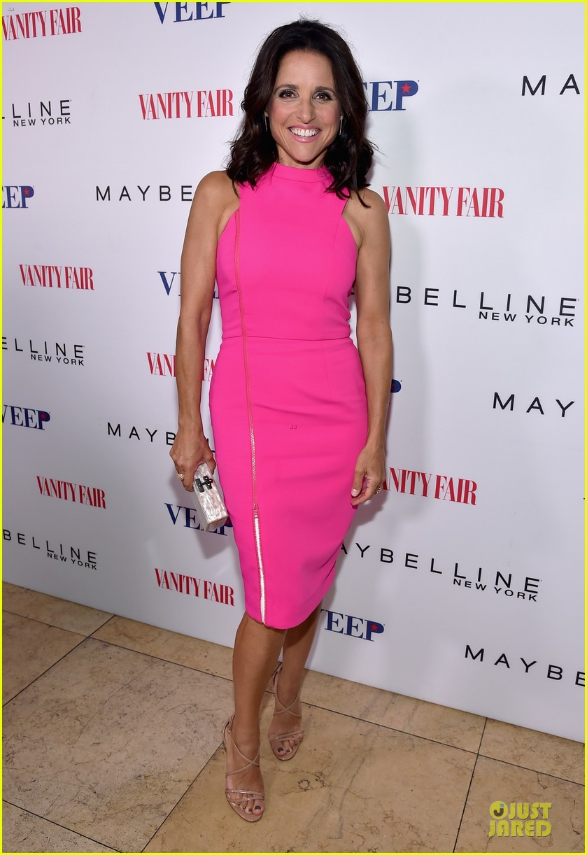 julia louis dreyfus hot pink after ice bucket challenge 06
