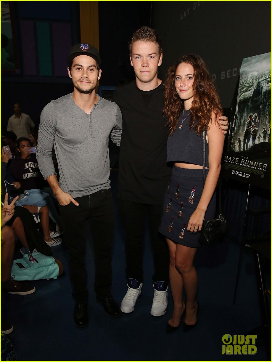 dylan obrien promotes the maze runner florida 033185165