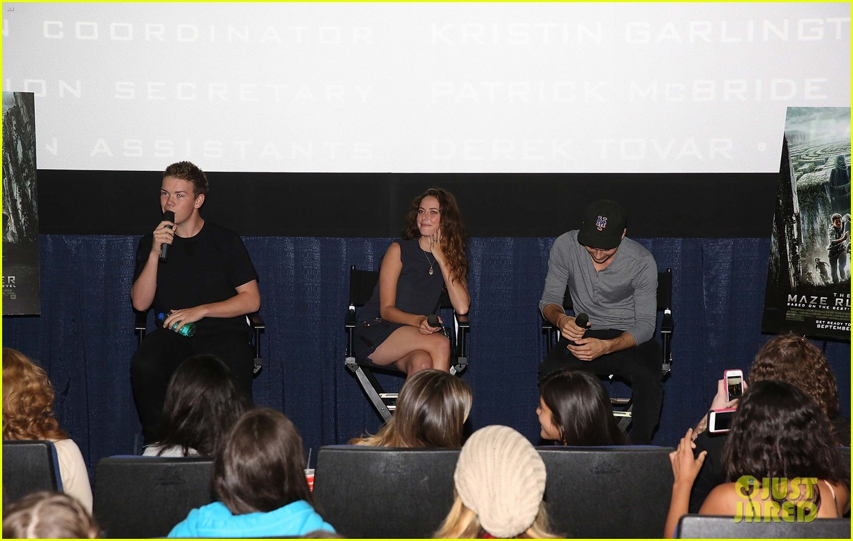 dylan obrien promotes the maze runner florida 093185171