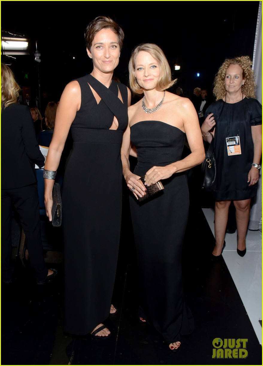 jodie foster wife alexandra hedison emmys 2014 04