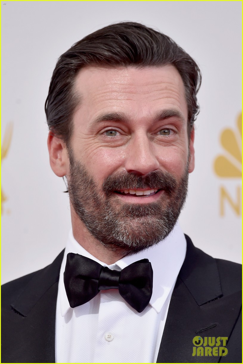 jon hamm jennifer westfeldt loving pair at emmys 2014 073183386