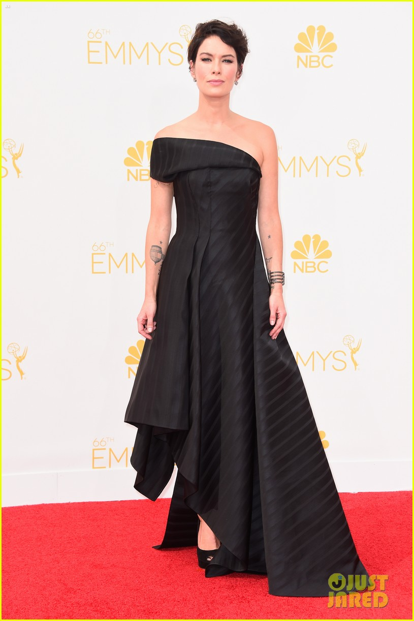 lena headey peter dinklage emmys red carpet 2014 04