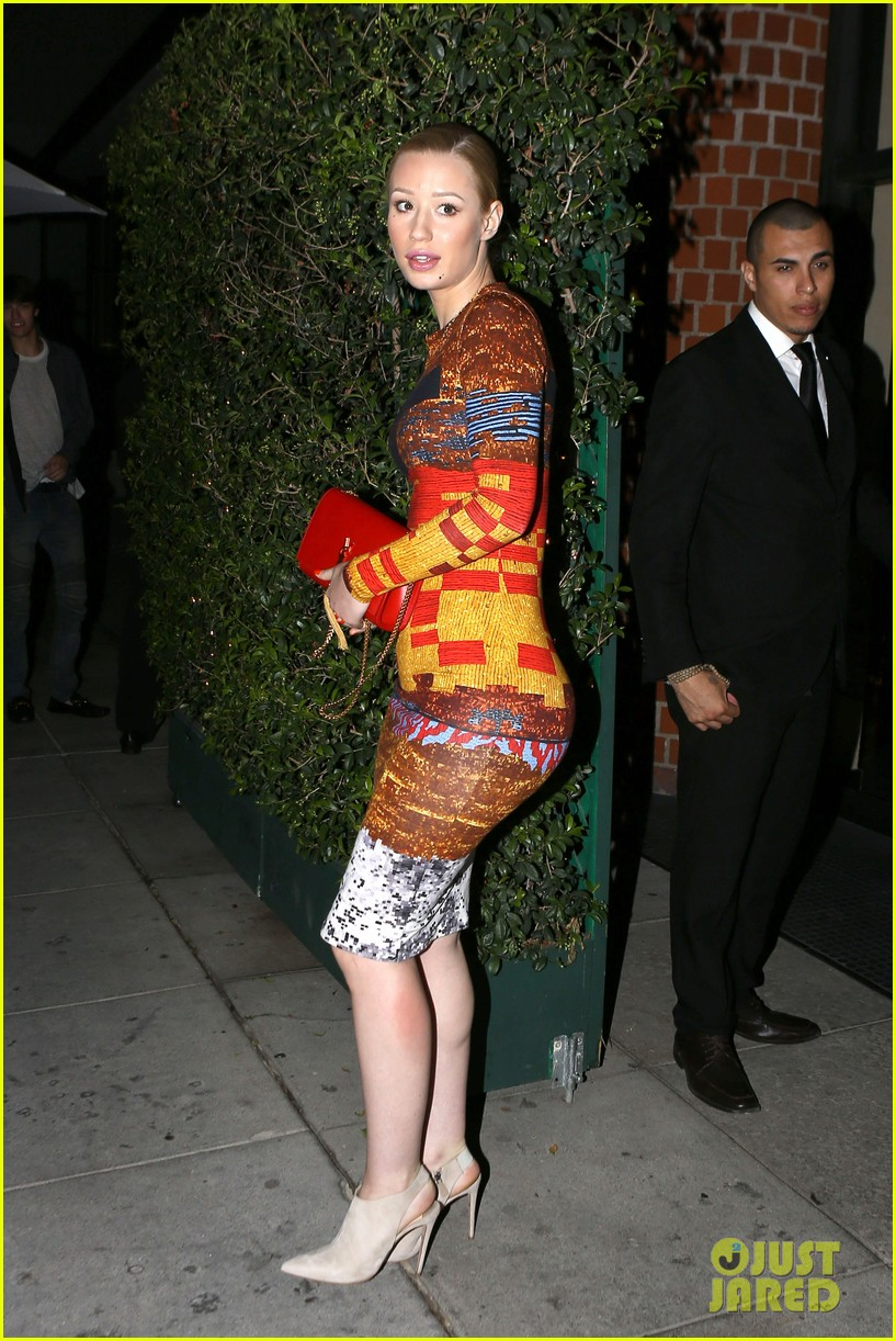 iggy azalea nick young date night on the town 103179632