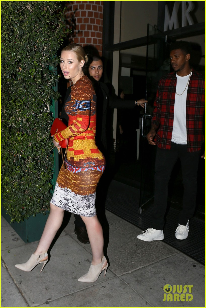 iggy azalea nick young date night on the town 11
