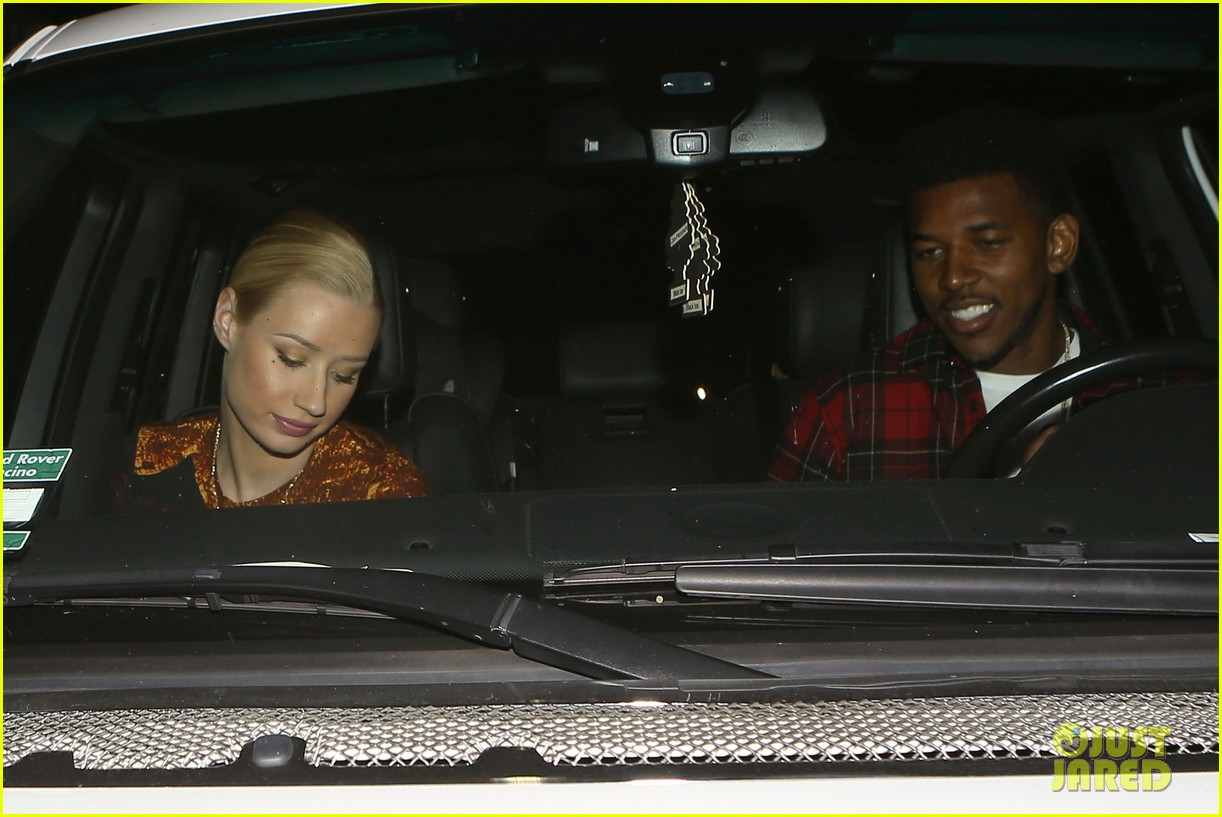 iggy azalea nick young date night on the town 22