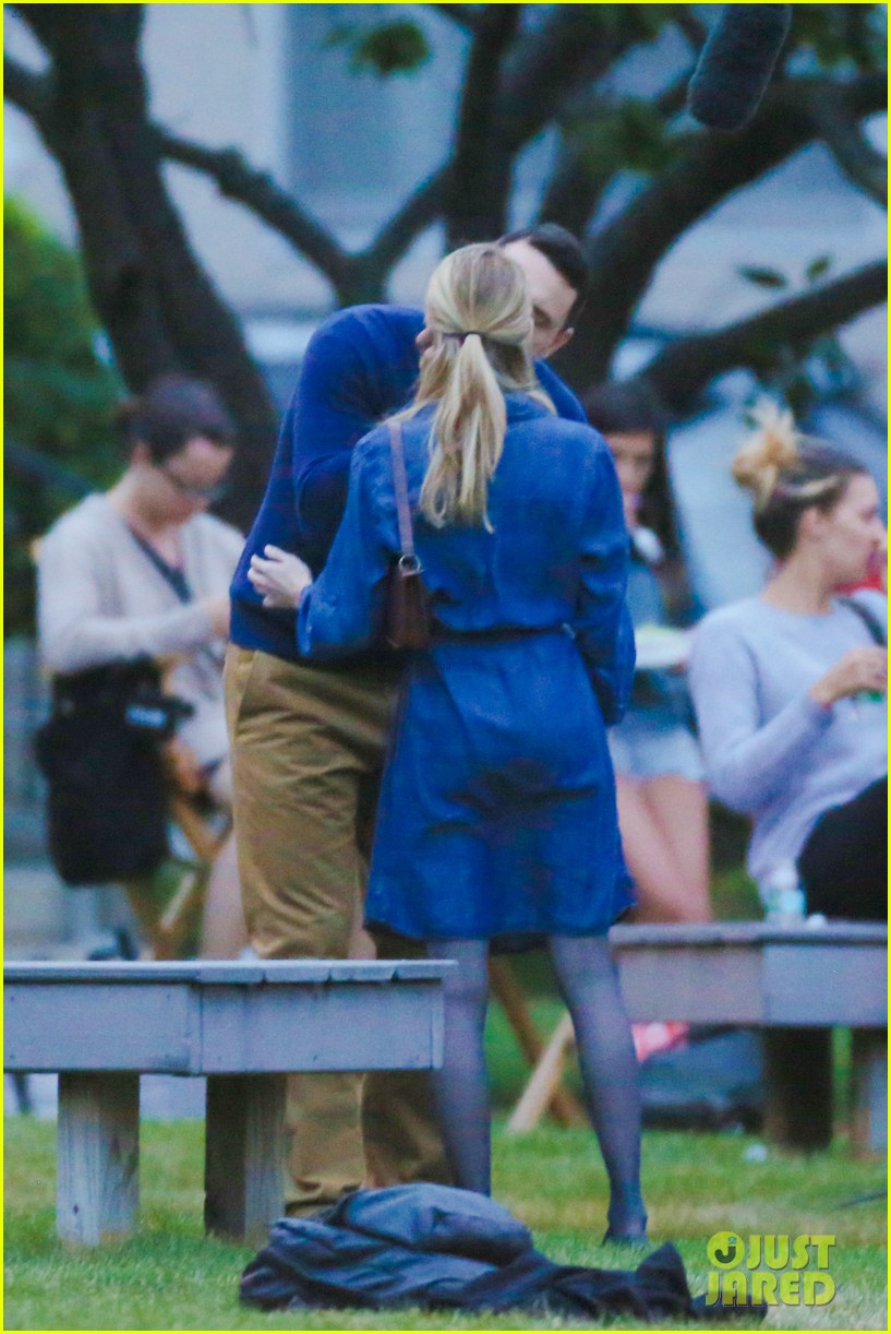 james franco emma roberts kiss park michael filming 343187029