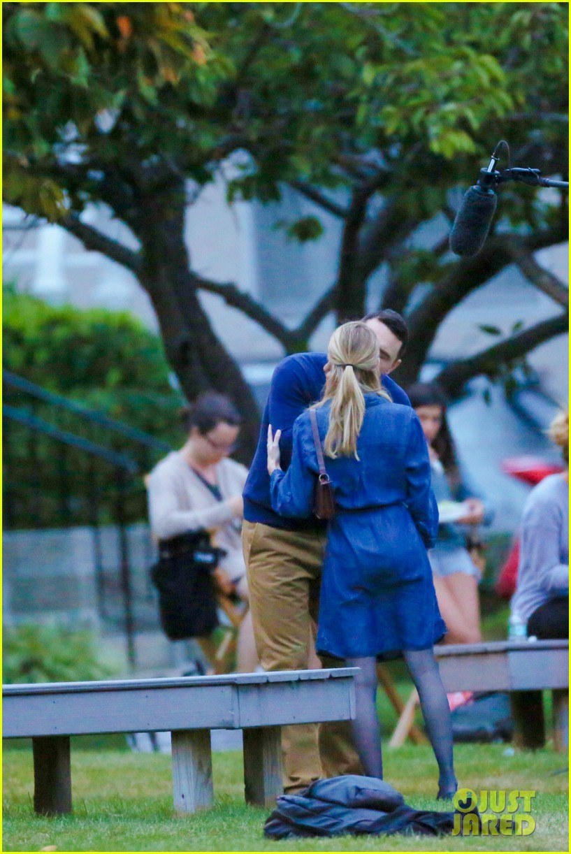 james franco emma roberts kiss park michael filming 35
